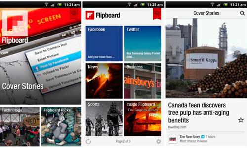 Flipboard ya está disponible para Android