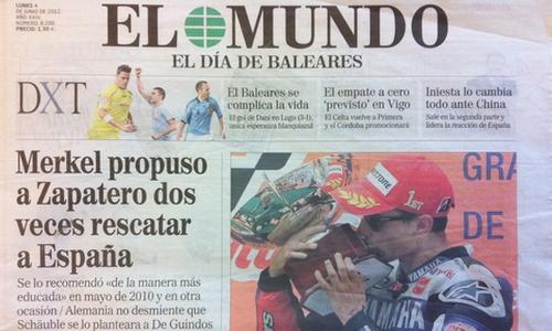 El Mundo despedirá a 10 trabajadores en Baleares