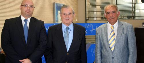 La CAEB y Deutsche Bank firman un convenio para favorecer a las empresas de Baleares