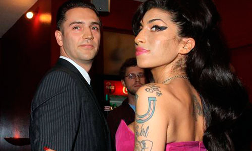 El ex novio de Amy Winehouse, acusado de violación