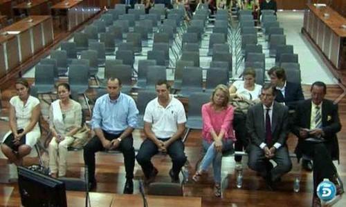 Comienza el juicio contra Pantoja, Muñoz y Zaldívar