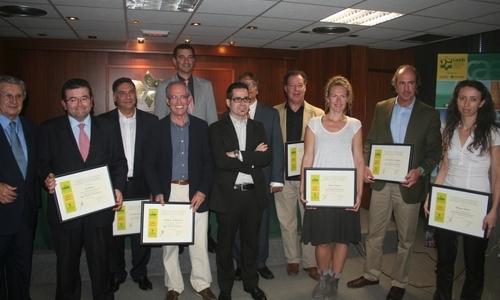 Astilleros, Estel Ingeniería y La Caixa, premiados por la CAEB