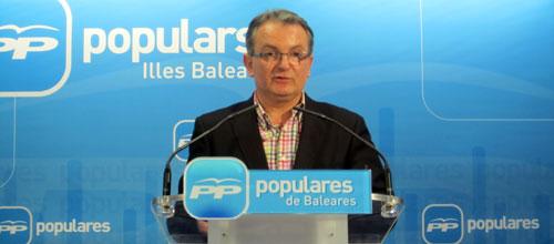Joan Rotger deja la presidencia del PP