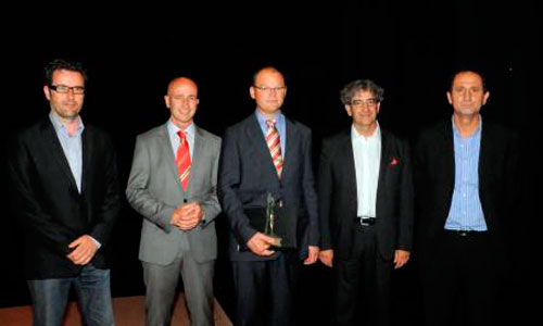 Antoni Riera galardonado con el Reconeixement de Mèrits