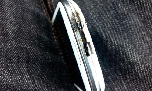 El Galaxy S III sufre combustión espontánea