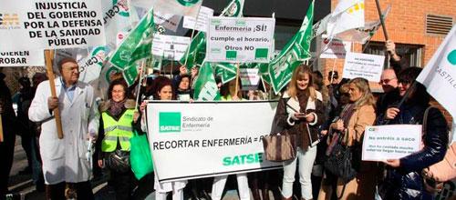 El Satse pide a los enfermeros que no realicen el