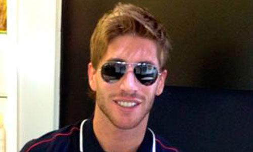 Sergio Ramos presenta su nuevo look