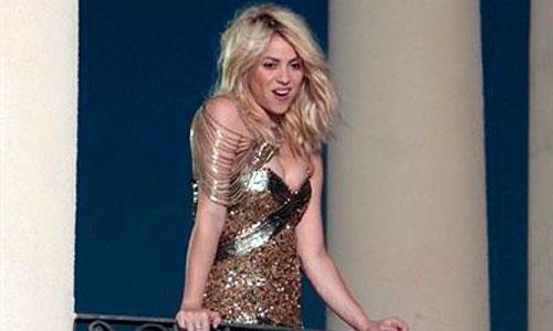 Shakira graba su nuevo video clip en Barcelona