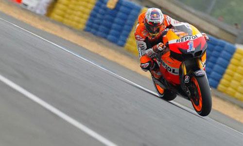 Lorenzo saldrá quinto en Alemania