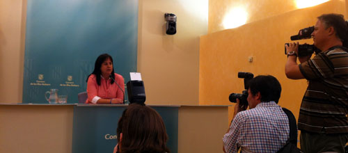 Carmen Castro abandona la política