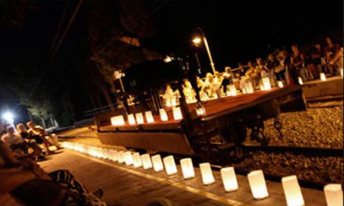 Música con 200 velas