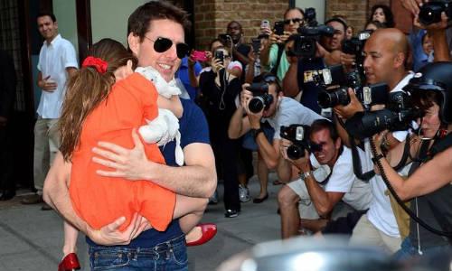 Reencuentro de Tom Cruise con su hija Suri