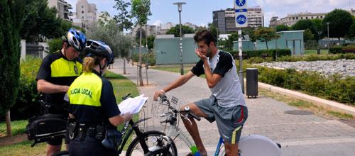 26 ciclistas denunciados en una semana