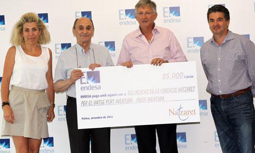 Endesa colabora con el viaje de los menores de la Fundación Natzaret