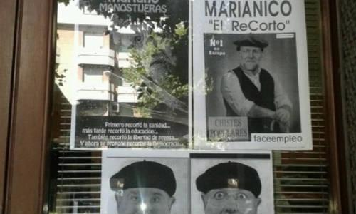 Mariano Rajoy vs Marianico el Corto