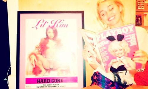 Miley Cyrus quiere ser la nueva conejita de 'PlayBoy