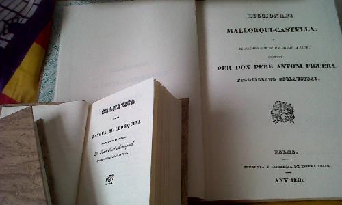 """El Círculo Balear reedita la """"Gramática Mallorquina"""""""