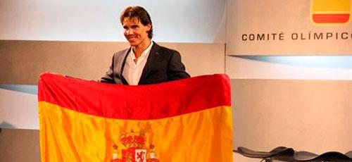Rafa Nadal ya es el abanderado del equipo olímpico español