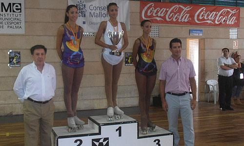Los mejores patinadores artísticos senior de España se vieron las caras en Son Rapinya