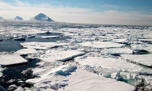 El hielo marino del Ártico, al borde del mínimo histórico
