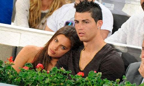 La relación entre Cristiano Ronaldo e Irina Shayk se tambalea