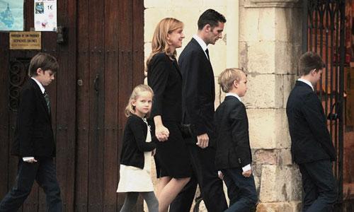 Los Duques de Palma siguen con su día a día en Barcelona