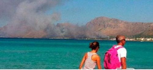 El incendio forestal de Betlem se salda con 20 hectáreas calcinadas