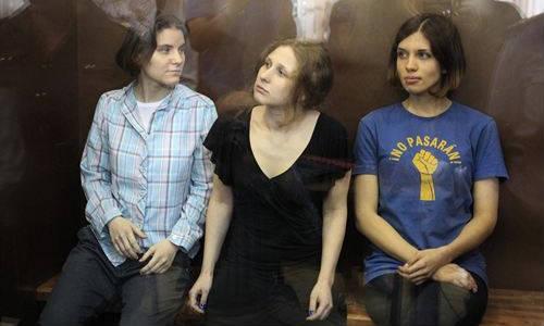 Las Pussy Riot, condenadas