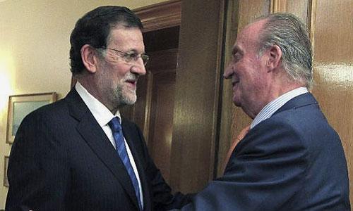 El Rey despachará con Rajoy en Marivent