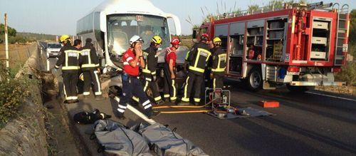 Dos muertos en un accidente en la carretera Manacor-Porto Cristo