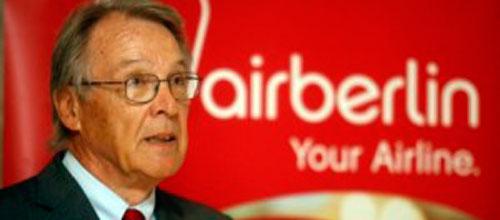 Air Berlin pierde 169 millones en el primer semestre