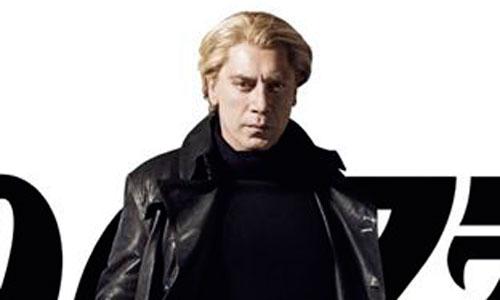 Un Bardem rubio en el nuevo cartel de 007 Skyfall