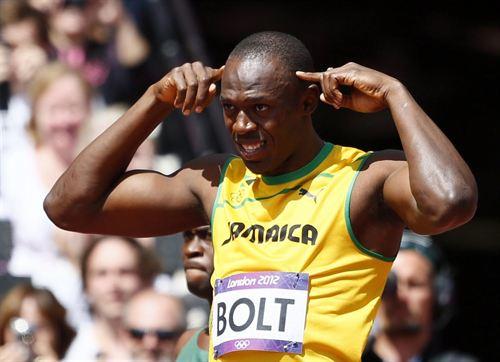 Arrestado por lanzar una botella a Bolt en la final de los 100m