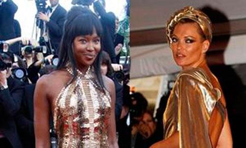 Naomi Campbell y Kate Moss, chicas de oro de los JJOO