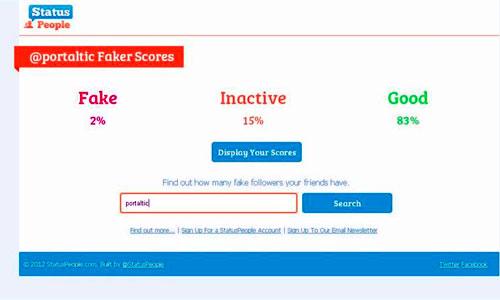 Una App para Twitter permite detectar cuentas falsas