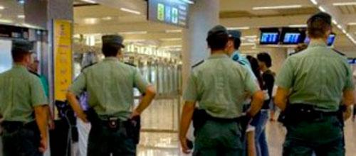 Libertad con cargos para cinco de los agentes de la Guardia Civil detenidos