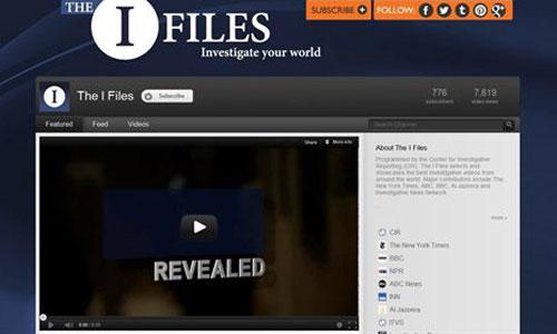 Youtube presenta un canal dedicado al periodismo de investigación