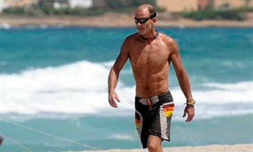 Kyril de Bulgaria luce cuerpo en Mallorca