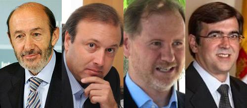 El PSOE destinó una treintena de funcionarios a rastrear a PP y UM