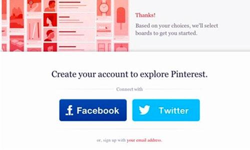 Pinterest abandona el requisito de invitación