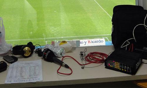 Las radios vuelven a hacer vibrar a la afición desde los estadios