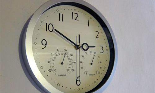 Las variaciones de temperatura pueden influir en el reloj biológico