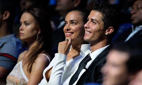 Cristiano Ronaldo e Irina Shayk, reaparecen juntos