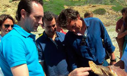 Suspendida la tradicional suelta de tortugas en Cabrera