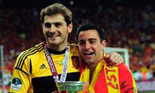Casillas y Xavi ganan el Príncipe de Asturias