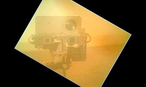 Autorretrato desde Marte
