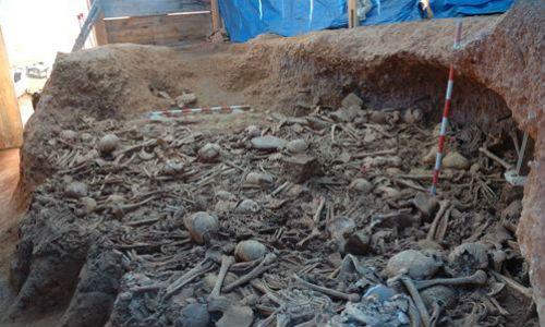 Hallan esqueletos de 5.000 años en Barcelona