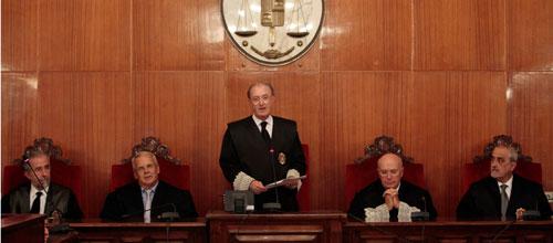 Las causas judiciales pendientes descienden un 12% en Baleares