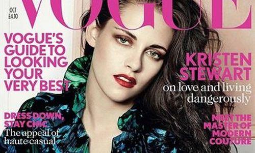 Kristen Stewart reaparece en la portada de Vogue