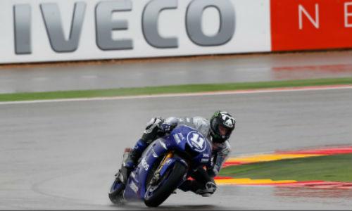 Lorenzo queda segundo en el GP de Aragón